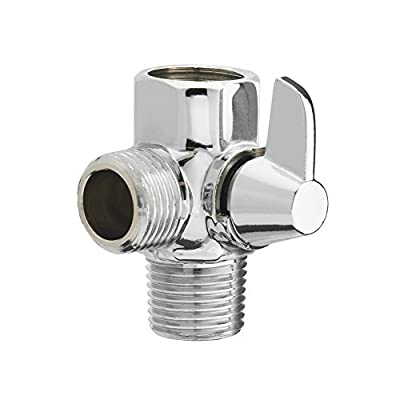 "AquausTM By RinseWorksTM Shower Diverter Valve - 1/2"" Male, 1/2"" Male, 1/2"" Female"