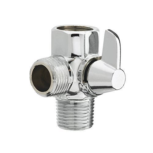 Aquaus™ By RinseWorks™ Shower Diverter Valve - 1/2'' Male, 1/2'' Male, 1/2'' Female by RinseWorks