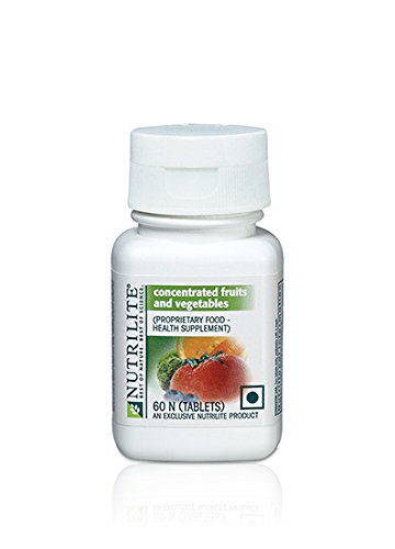 Amway Nutrilite Concentrated Fruits And Vegetables (60N Tablets) Vitamins, Minerals & Supplements at amazon