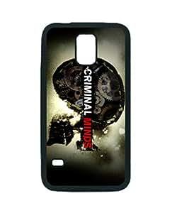 Criminal Minds Logo ~ For Case Iphone 5/5S Cover Black Hard Case ~ Silicone Patterned Protective Skin Hard For Case Iphone 5/5S Cover - Haxlly Designs Case