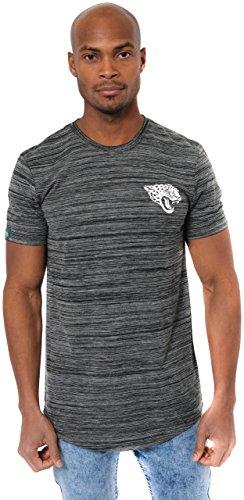 (ICER Brands Men's T Active Basic Space Dye Tee Shirt, Team Color, Black, X-Large)