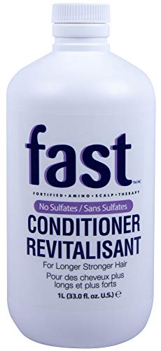 NISIM F.A.S.T Fortified Amino Scalp Therapy Conditioner - Revitalisant Conditioner That Promotes Fast and Healthy Hair Growth (33 Ounce / 1000 Milliliter)