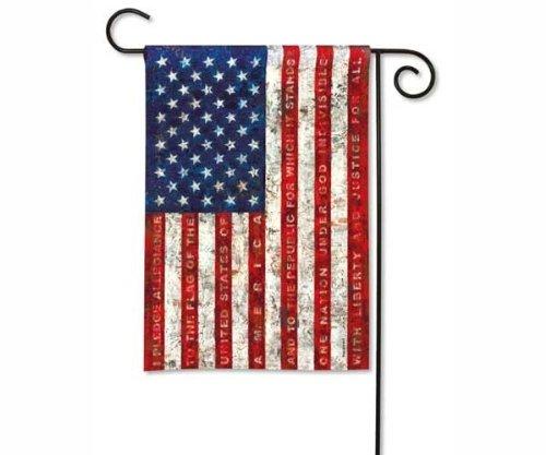 BreezeArt Pledge of Allegiance Garden Flag 36448