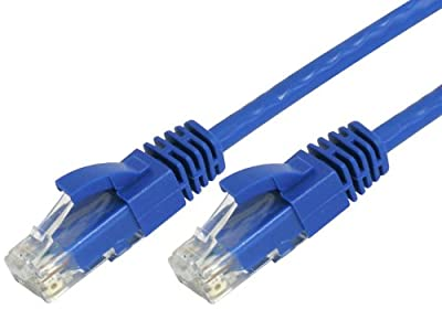 Cables Direct Online Blue Cat6 Copper UL Networking RJ45 Ethernet Patch Cable Xbox\PC\Modem\PS4\Router-50FT