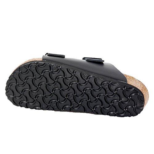 Birkenstock pantoufle ''Arizona'' de Cuir en Noir 41.0 S EU