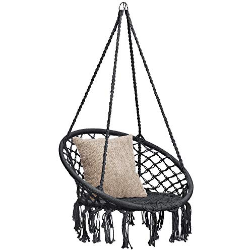 Best Choice Products Indoor/Outdoor Hanging Cotton Macrame Rope