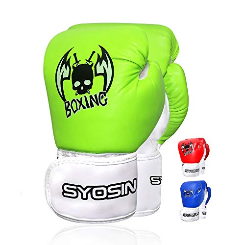 Echoss Kid Boxing Gloves 4 Oz Children Cartoon Sparring Boxing Toddler Training  Gloves PU Leather for Age 3 to 12 Years -