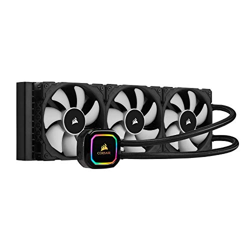 Corsair iCUE H115i RGB Pro XT, 280mm Radiator, Dual 140mm PWM Fans, Software Control, Liquid CPU Cooler (Renewed)