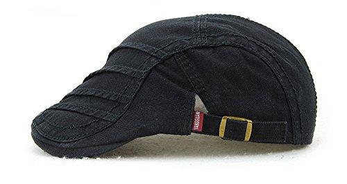 sunscreen beanie retro sombreros de visor de B outdoor anti sombrero Black Halloween MASTER mujer tapas sombreros Sombreros Navidad hombre marrón Ogxft