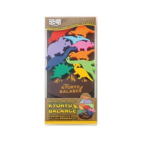 Animal seed balance Eraser Set Dinosaur (japan import) (Dinosaur Eraser)