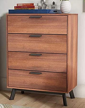Amazon.com: Chester Drawers - Vintage Umber Wood Four ...