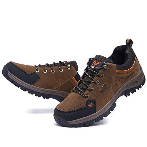 2017 Herbst Winter Sport Outdoor Wanderschuhe Turnschuhe Paare Schuhe Wildleder Rutschfeste Dämpfung Schuhe 39-44 Brown