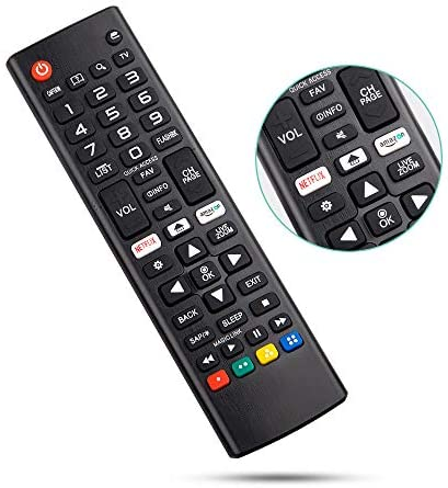 Angrox Universal Remote Control for LG-TV-Remote All LG LCD LED HDTV three-D Smart TV Models