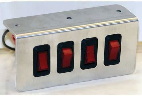 20 Amp//2 Buyers Products 6391101 Switch 2-Position On-Off Lot of 32 Rocker