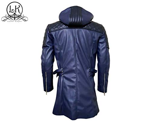 Devil May Cry 5 Nero DMC Faux Leather Jacket (L) (Dmc Dante Coat)