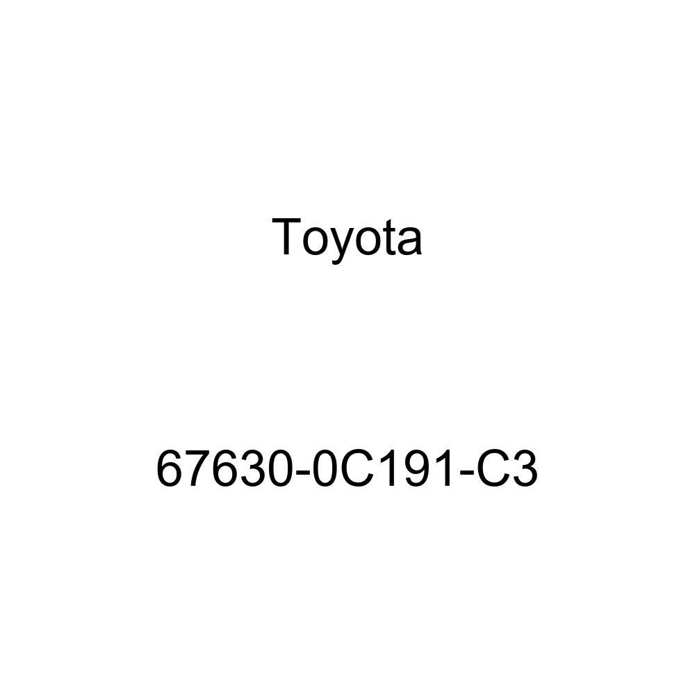 Genuine Toyota 67630-0C191-C3 Door Trim Board