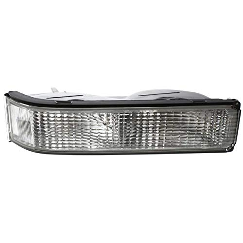 Single Sealed Beam - New Right Passenger Side Signal Lamp For 1988-2002 Chevrolet C/K Full Size Pickup Lens And Housing, With Single Sealed Beam Headlamps GM2521104 5974338