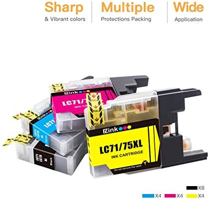 BK//C//M//Y LC-79XXLMP SuppliesMAX Compatible Replacement for Brother MFC-J5910//J6510//J6710//J6910DW Inkjet Combo Pack