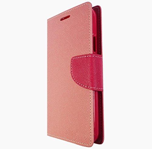 Für Apple iPhone 4 4s Handy Book Style Tasche Wallet Case Flipcover Schutz Hülle Klapp Etui Kartenfächer Magnetverschluss Drip Case Rosa Pink