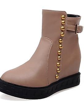 XZZ/ Zapatos de mujer - Plataforma - Botines / Punta Redonda - Botas - Vestido