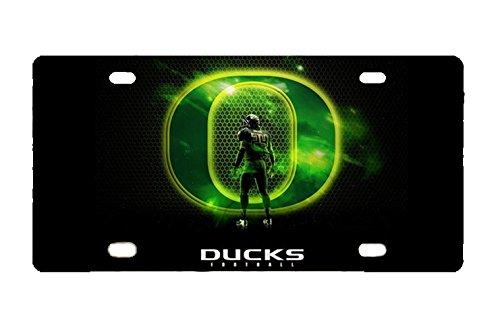 Panda Oregon Ducks license frame custom Metal License Plate for Car Novelty license plate 12 inch X 6 inch