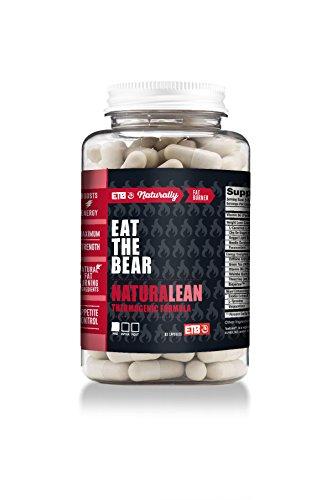 ETB NaturaLean Thermogenic Fat Burner - Weight Loss Supplement - 90 Capsules