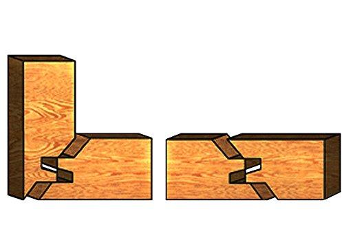 HM Hartmetall bestückte Verleimfräser für Oberfräser Holzfräser Nut Feder 12mm