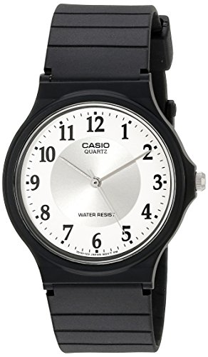 (Casio Women's MQ24-7B3LL Classic Black Resin Band Watch)