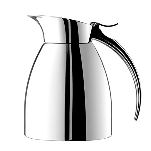 Emsa Eleganza Stainless Steel Insulated Carafe, 10-Ounce -