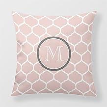 Lightinglife Decorative Throw Pillow Cover Mint Decorative Pillow Cover Blush Pink 20 Pillow Cover Square