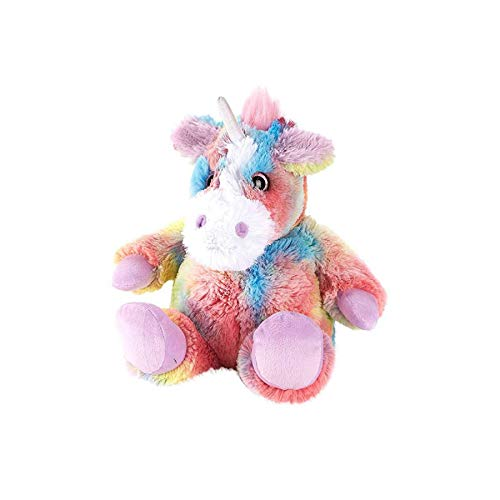 (Warmies Microwave Lavender Scented Soft Toy - Rainbow Unicorn Pink)