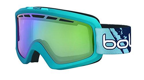 Bollé Nova II Masque de ski Matte Blue Gradient Green Emerald