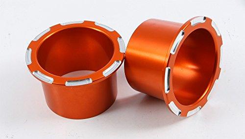 Modquad Billet Cup Holders - Orange ()