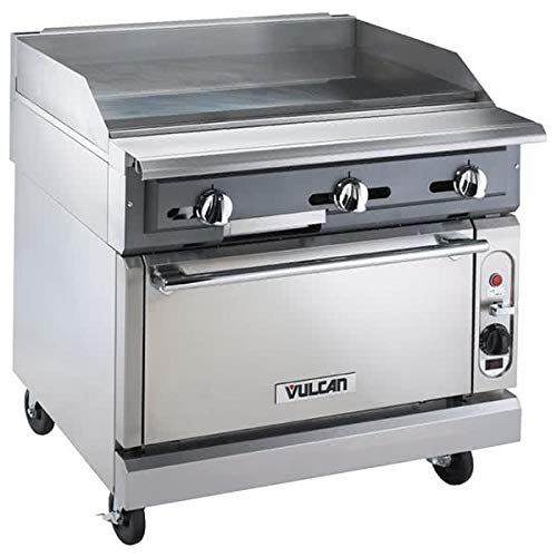 """Vulcan VGM36C 36"""" Gas Range w/Griddle Top - Convection Oven,"""