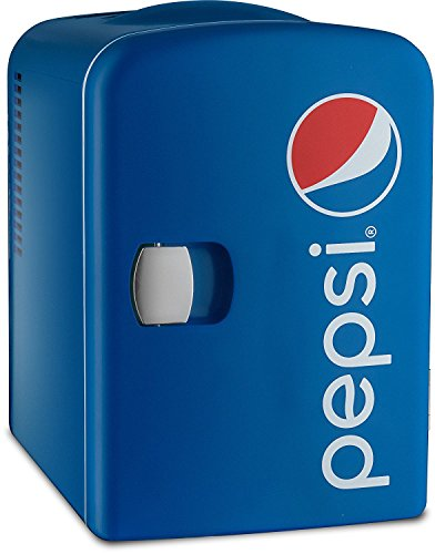 Gourmia GMF660 Pepsi Thermoelectric Mini Fridge Cooler and Warmer - 4 Liter/ 6 Can ...