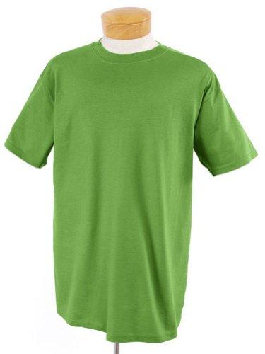 Jerzees 5,6oz., 50/50mezcla de peso pesado Camiseta (29M) Kiwi