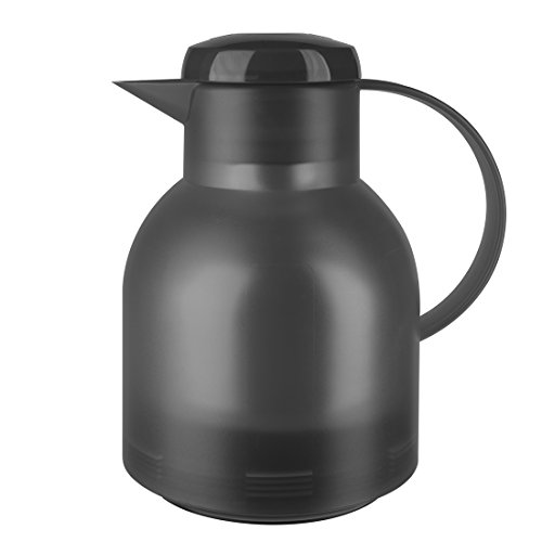 Emsa Samba 509821 Quick Press Insulated Jug 1.0 L Charcoal Grey