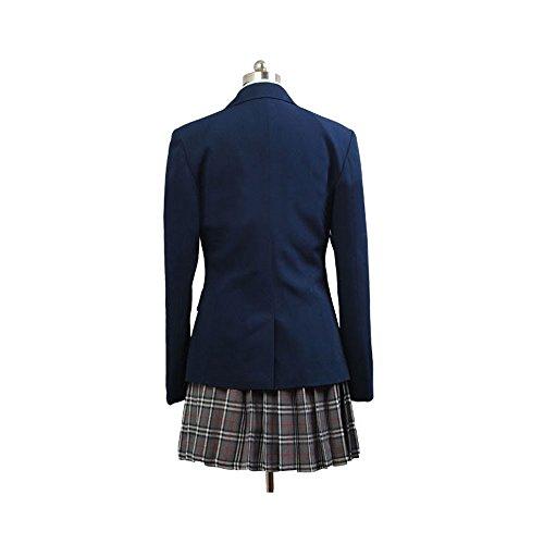 Disfraz De Mujer para Cine Camisa Blanca Corbata Roja Saco Falda A ...