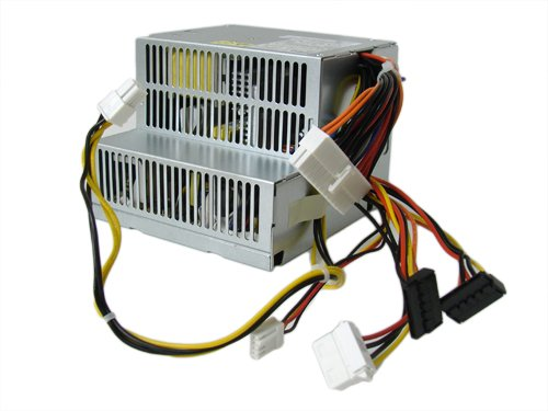 Genuine Dell 280w Power Supply PSU For Small Desktop Systems Optiplex 210L, 320, 330, 360, 740, 745, 755 GX520, GX620 r Dimension C521 and 3100C Optiplex New Style GX280 Systems Part Numbers: F5114, MH596, MH595, RT490, NH429, P9550, U9087, X9072 (Dell Gx280 Tower)