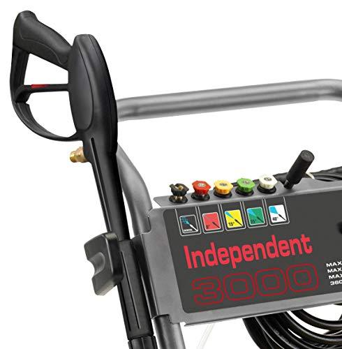 Lavor 8.601.0195C Independent 3000 Nettoyeur Haute Pression Eau Froide, Noir/Rouge
