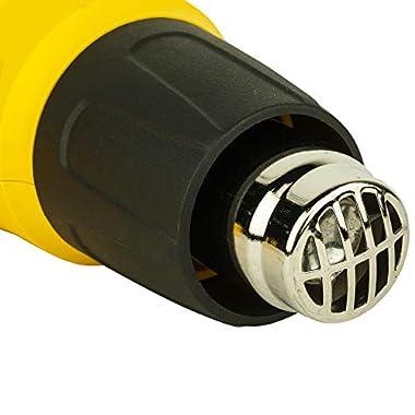 STANLEY STXH2000 2000W Variable Speed Heat Gun (Yellow and Black) 9