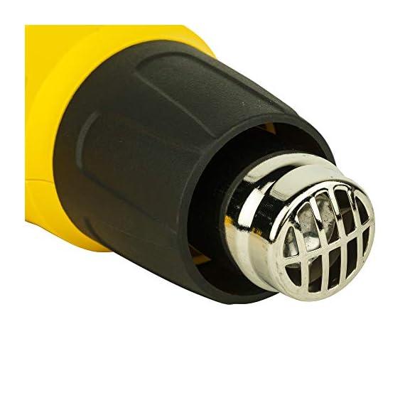 STANLEY STXH2000 2000W Variable Speed Heat Gun (Yellow and Black) 2