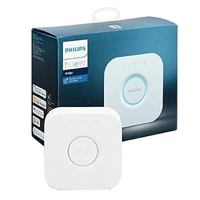 Philips Hue Smart Hub (Compatible with Amazon Alexa, Apple HomeKit, and Google Assistant) (Certified Refurbished)