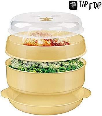 Envase Microondas Cocina Vapor