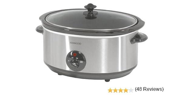 Kenwood CP658 - Cocina lenta, material acero inoxidable, potencia ...