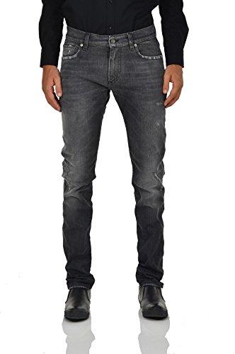 Dolce&Gabbana Stretch Jeans Gray Men - Size: 46 - Color: Grey - New