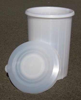 12 Gallon Plastic Fermenter with Lid for Wine Making (12 Gallon Plastic Bucket)