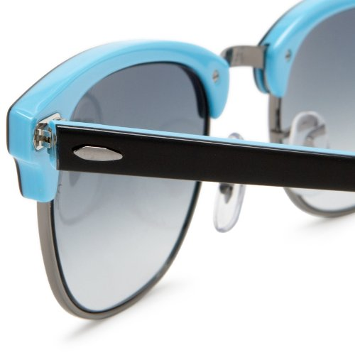 Azure Mixte Gradient Black Lunettes Blue Ban Blu de And Ray soleil ZRqUx