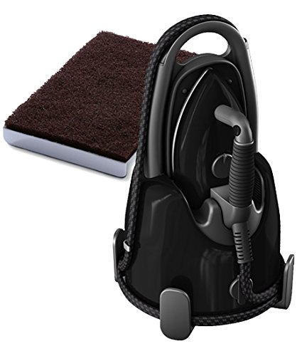 Laurastar Lift+ Steam Iron + Soleplate Cleaning Mat Bundle - Ultimate-Black by Laurastar