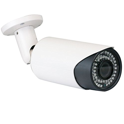 GW Security 2MP HDCVI/TVI/AHD/960H 4-In-1 Sony Cmos 4X Optical Motorized Zoom 2.8-12mm Varifocal Lens Auto-Zoom & Auto-Focus Day/Night Waterproof 1080P Bullet Security Camera